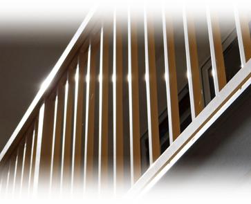 Detail tyčové výplně hliníkového zábradlí AluClick Klasik